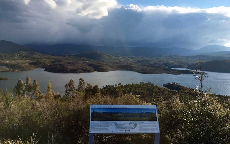 cotter catchment lookout