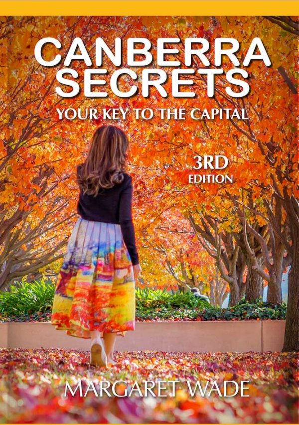 Canberra Secrets book 3rd edition